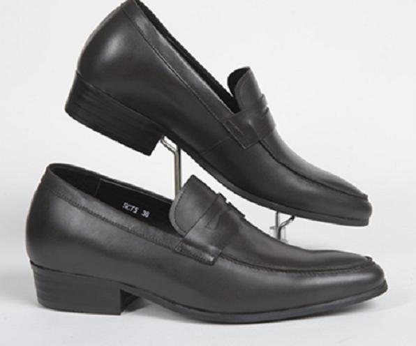 Giày lười tăng chiều cao nam đem đến sự tiện dụng