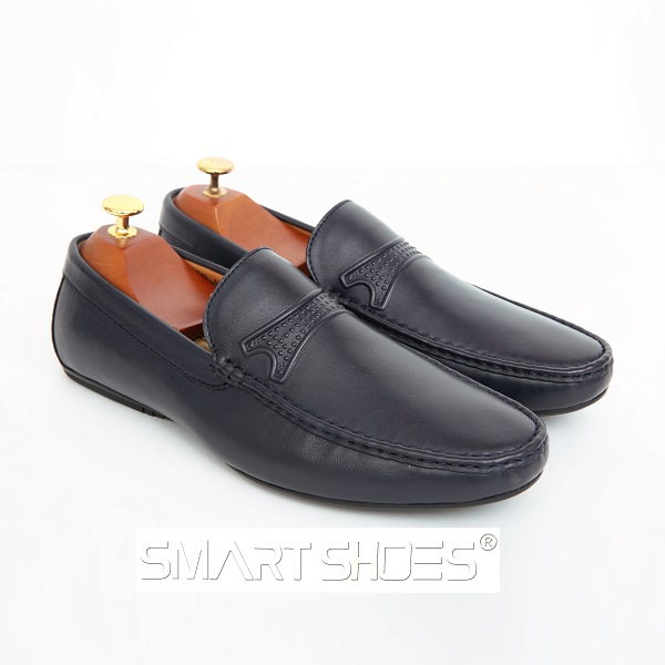 Giày da nam ITALY - ST07 Black