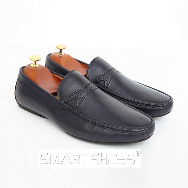 Giày da nam ITALY - ST26 Black
